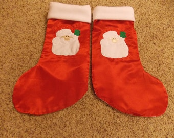 Personalized Santa Christmas stocking