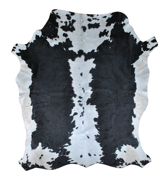 Black And White Extra Large Rug: Cowhide Rug Extra-large Black And White Hide From By Herdboi