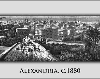 24x36 Poster; Alexandria 1880