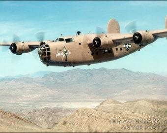 24x36 Poster; B-24 Liberator P2