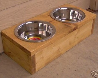 Brand New Elevated Pet Feeder, 4 Inches Raised Bowl for Dogs - Free Shipping