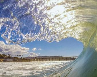 Wave Framed Pier