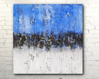 Handmade original abstract painting - Contemporary textured ART - Fine art by Horst Heuchlow