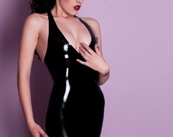 Little Black Dress - Latex Rubber