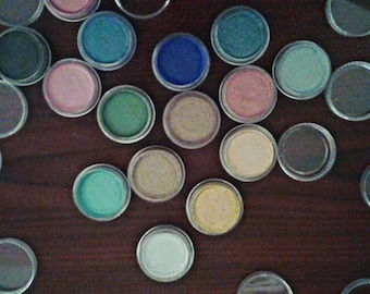 BUY 4 GET 1 FREE ! Natural Mineral Eye Shadows !