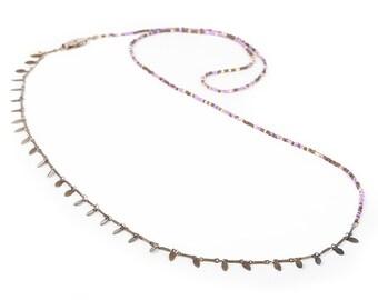 MIYUKI beads LONG NECKLACE