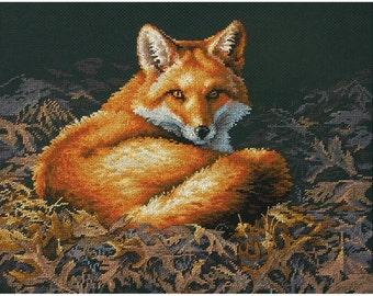 Dimensions Cross Stitch Kit - Sunlit Fox #70-35318
