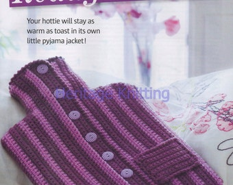 hot water bottle crochet dk pattern 99p