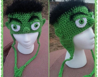 The Incredible Hulk Ear Flap Beanie