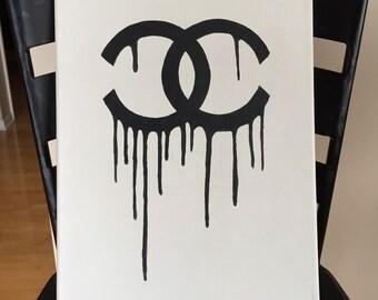 Chanel Melting Canvas