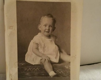 Vintage Baby Picture