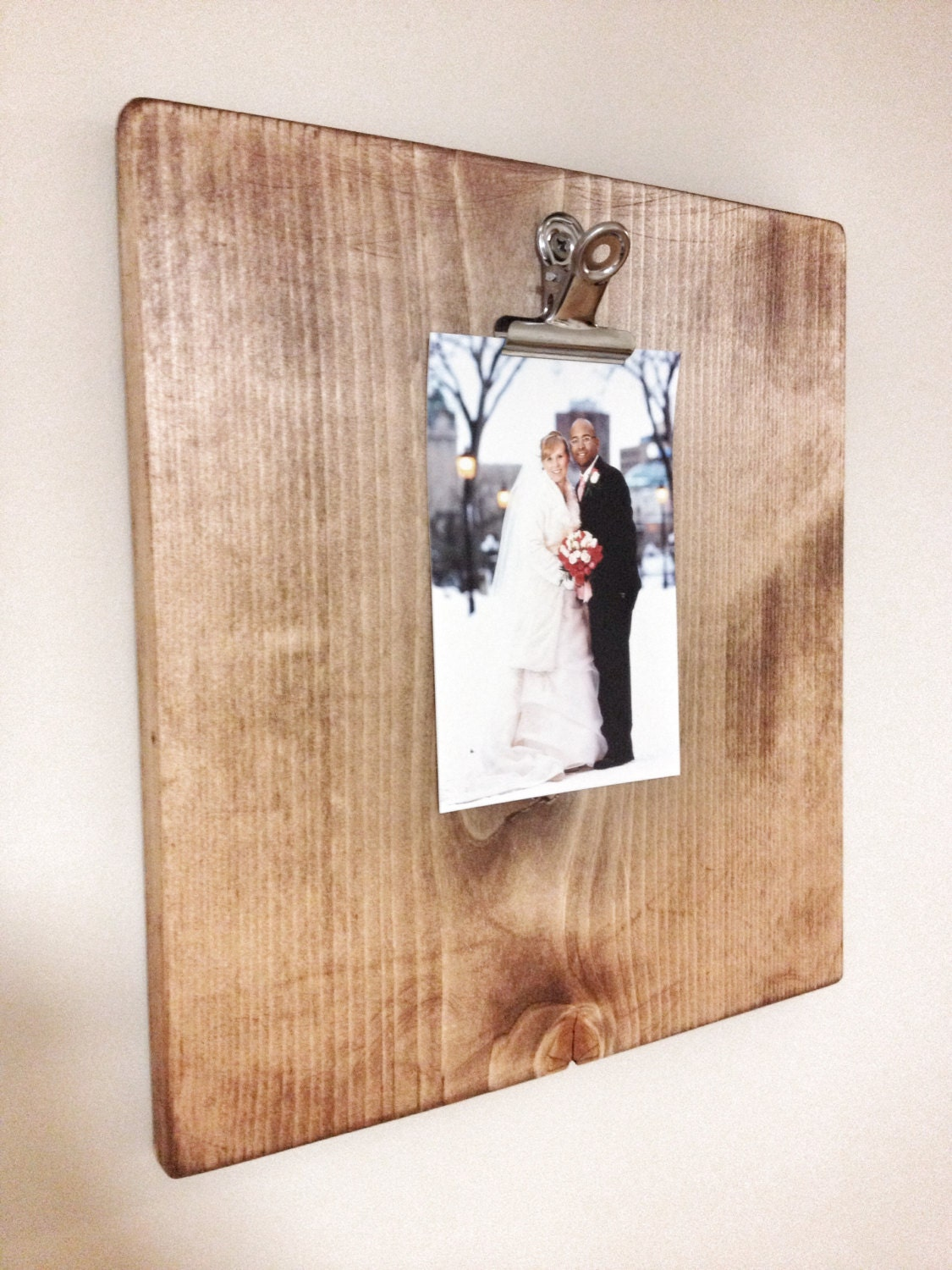 Rustic Wooden 8x10 Picture Frame Rustic Frame Metal