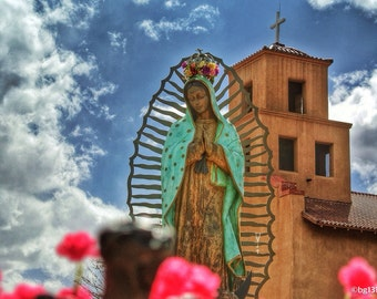New Mexico Photography (Our Lady of Guadalupe)