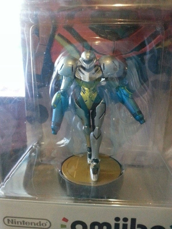 Metal Suit Samus Custom Dual Cannon Metal Suit