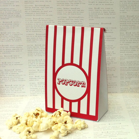 popcorn gift bag template create beautiful by
