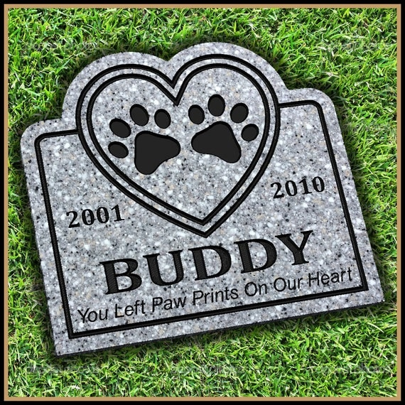 Pet Grave Markers For Dogs