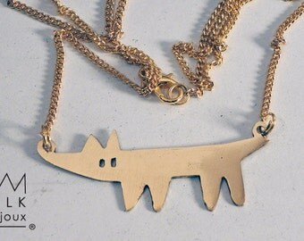'dog' necklace