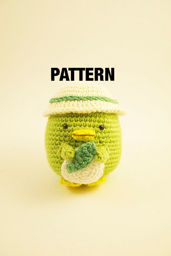 Amigurumi crochet doll PATTERN ONLY English San-X sumikko