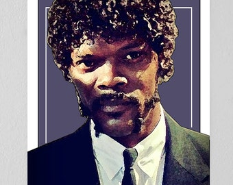 Pulp Fiction Jules Print
