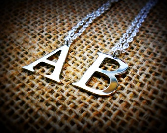 Monogram Letter Necklace - Any Letter - Dainty Pendant