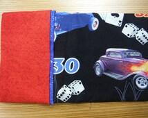 Pillowcase Kit- 100% Cotton - Hot Rods