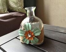patron bottle vase