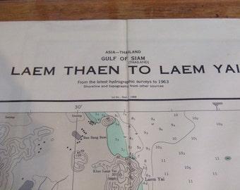 Laem Thaen to Laem Yai ~ Gulf of Siam (Thailand) - Asia - Nautical Chart #6218