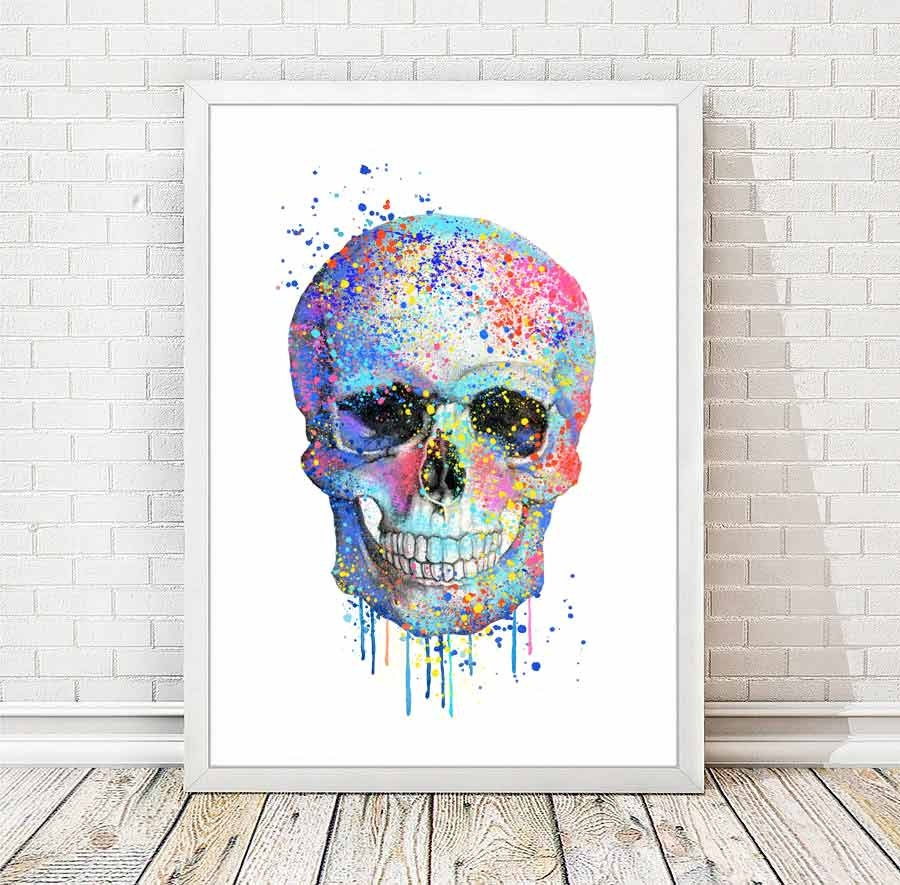 Skull Bedroom Decor Sugar Skull Decor Etsy