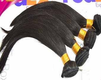 Vedar Beauty 4 bundles brazilian remy hair straight hair weave 4bundles/lot, 100g/piece