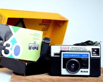 Kodak Instamatic X-30 Color Outfit AX-30R