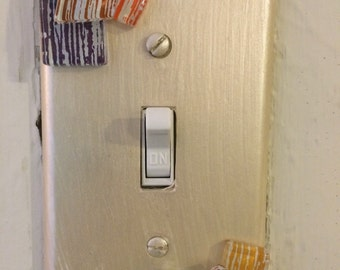 Mosaic Light Switch cover, single switchplate