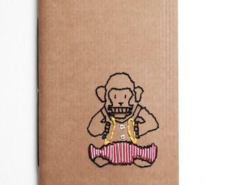 Lost in childhood, handmade notebooks