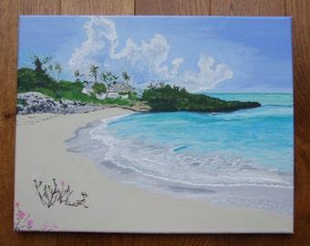 Print of my 'Dream of Exuma Bahamas Original Painting'