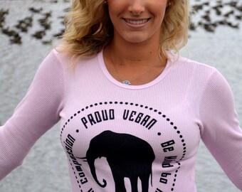 Proud Vegan Thermal by Grape Cat
