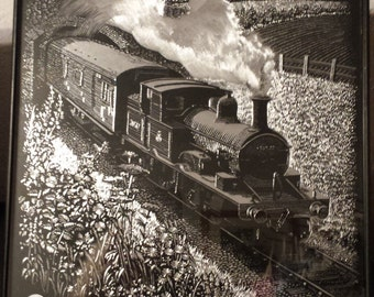 Train Foil Art