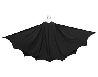 Batman Cape Wide 8 Panel Dark Knight Costume