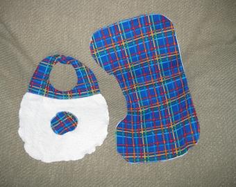 Burp Cloth and Bib Combo
