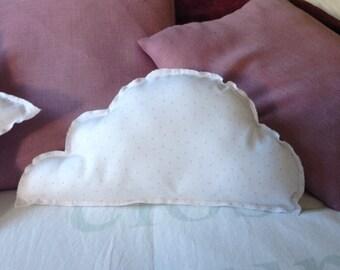 Cushion pink cloud