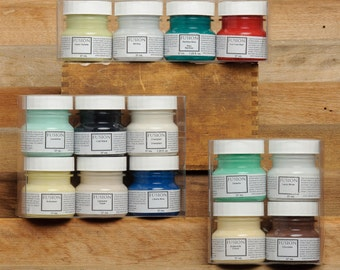 Fusion Mineral Paint 45 ml Sample pack of 4.  Made in Canada