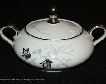 Baronet Silver Arbor Sugar Bowl w/ Lid