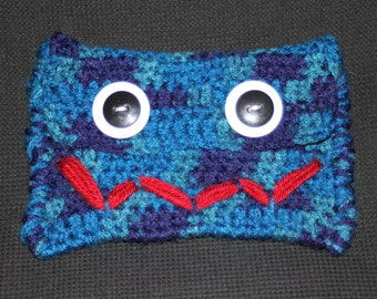 Medium Pouch with Silly Face