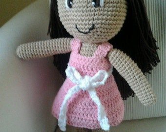 Traditional Sweet Doll Amigurumi