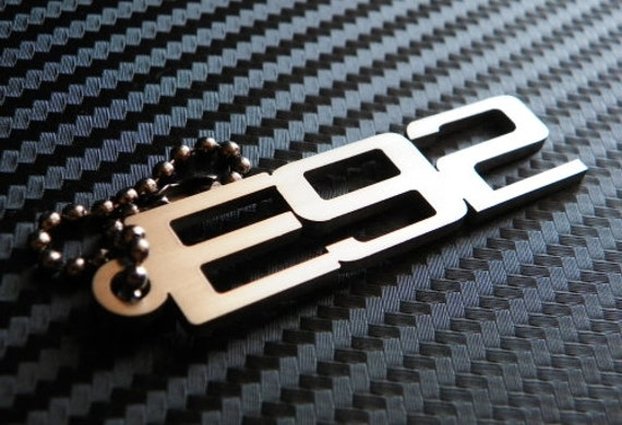 BMW E92 Keychain key tag