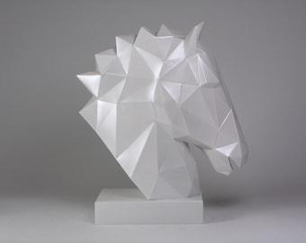 Head Sculpture of Horse-Decorations