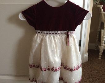 Vintage Little Girl's Dress, size 3T