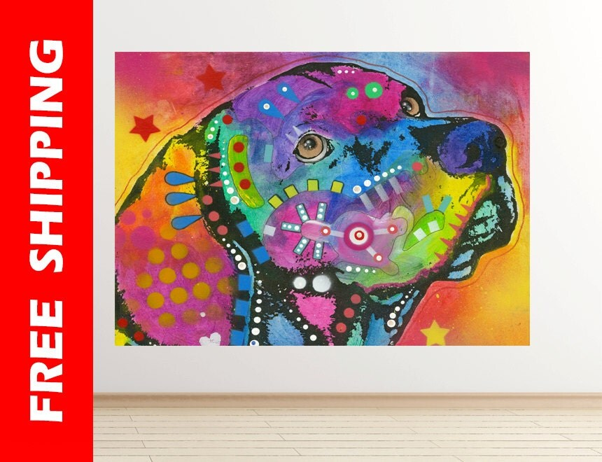 Painting Dean Russo Dogs Gift by Dean Russo