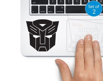 Autobot Decals, Transformer Decals, Autobot Stickers, Set of 2 Decals for Car Windows, Walls and Laptops
