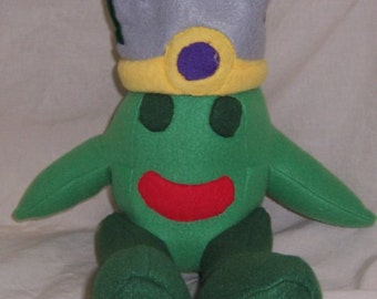 Subject M from Area 42 webcomic; Plush Alien