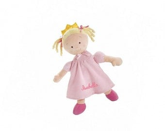 Personalized Little Princess Doll - 16 Inch - Blonde