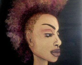 Afro Punk Mohawk